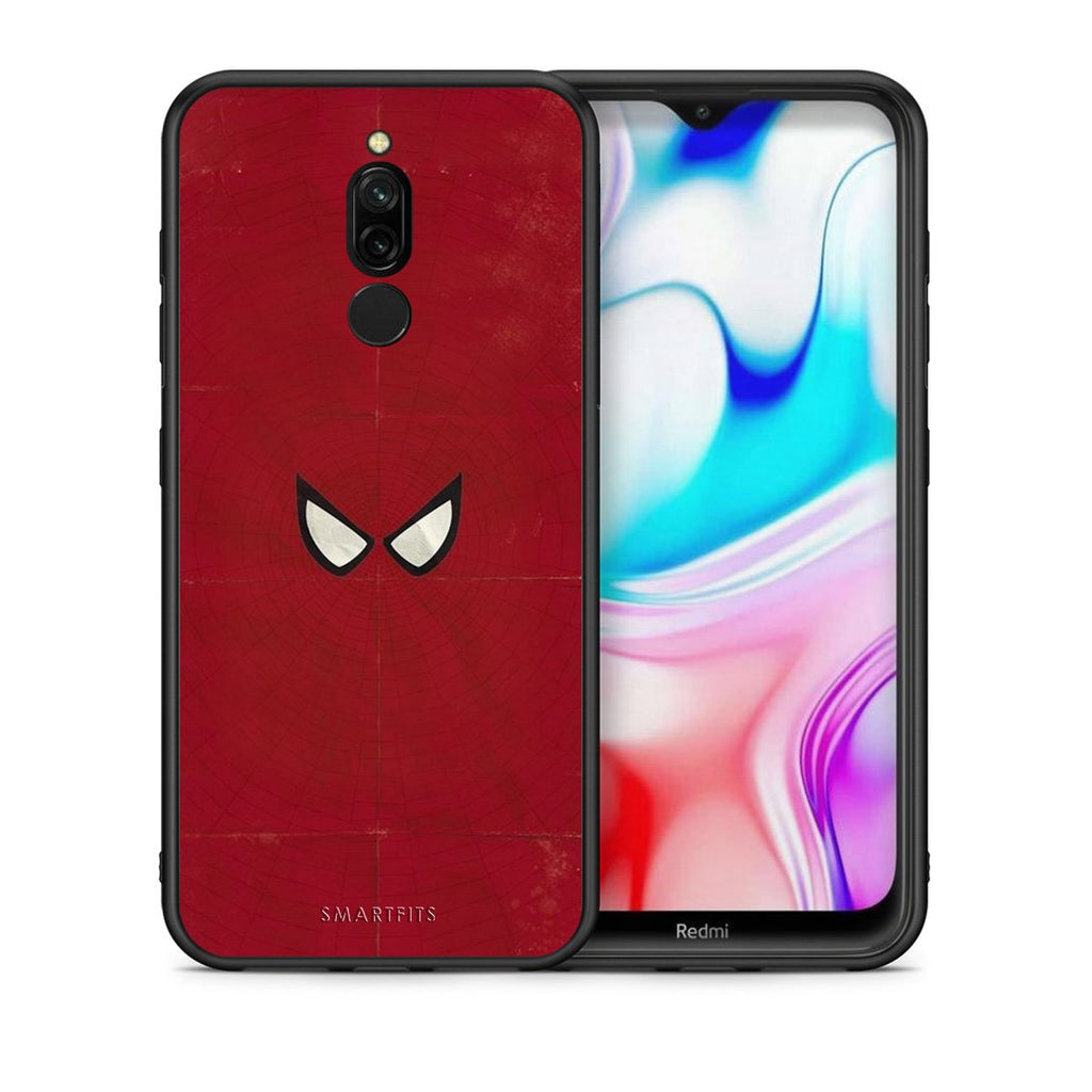 4 - Xiaomi Redmi 8 Spider Eyes Hero case, cover, bumper