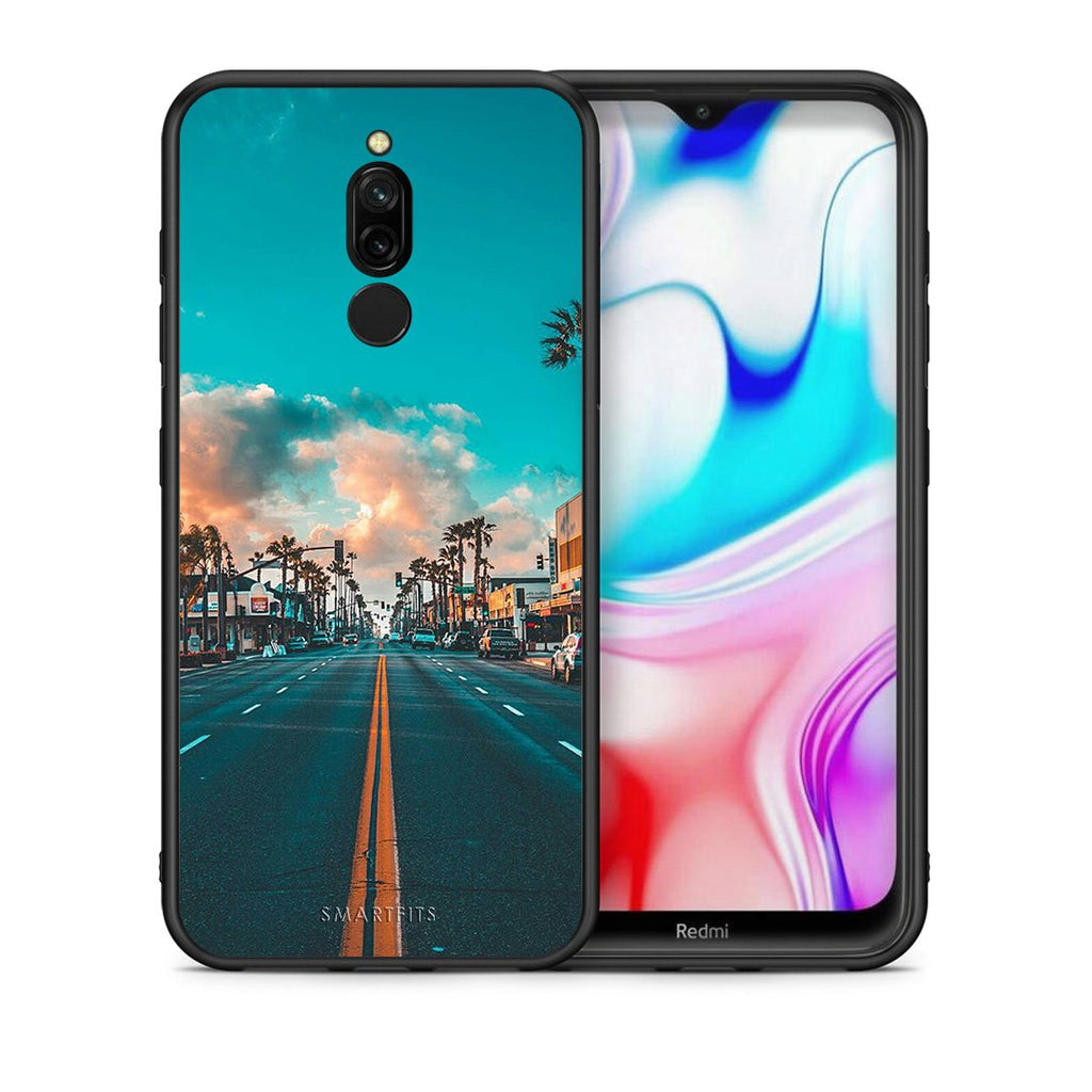 4 - Xiaomi Redmi 8 City Landscape case, cover, bumper