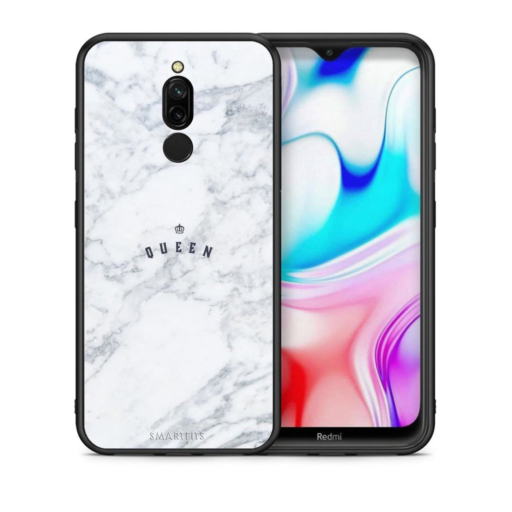 4 - Xiaomi Redmi 8 Queen Marble case, cover, bumper