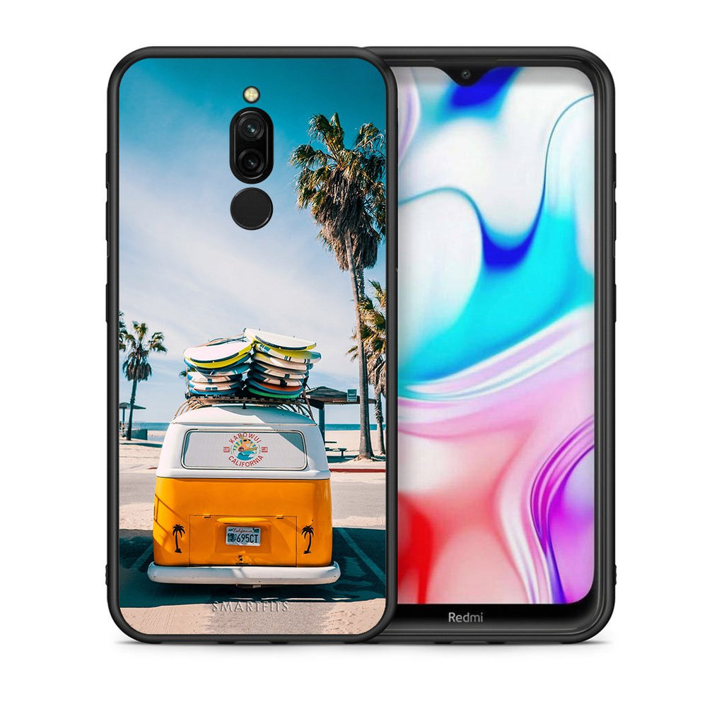 4 - Xiaomi Redmi 8 Travel Summer case, cover, bumper