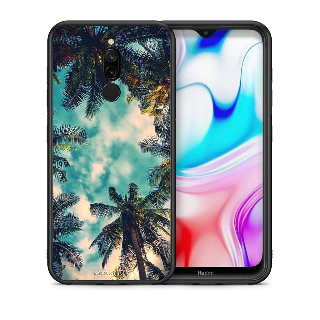 4 - Xiaomi Redmi 8 Bel Air Tropic case, cover, bumper