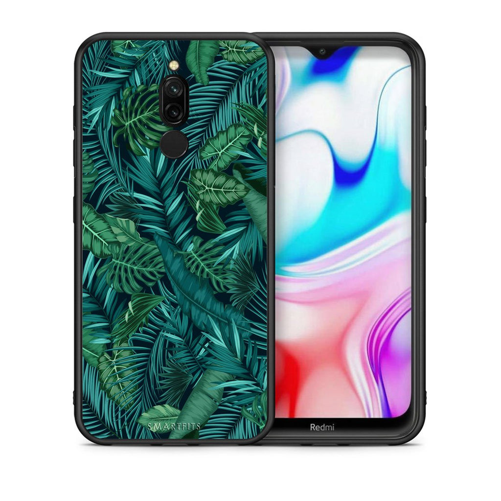 99 - Xiaomi Redmi 8 Tropic Leaves case, cover, bumper