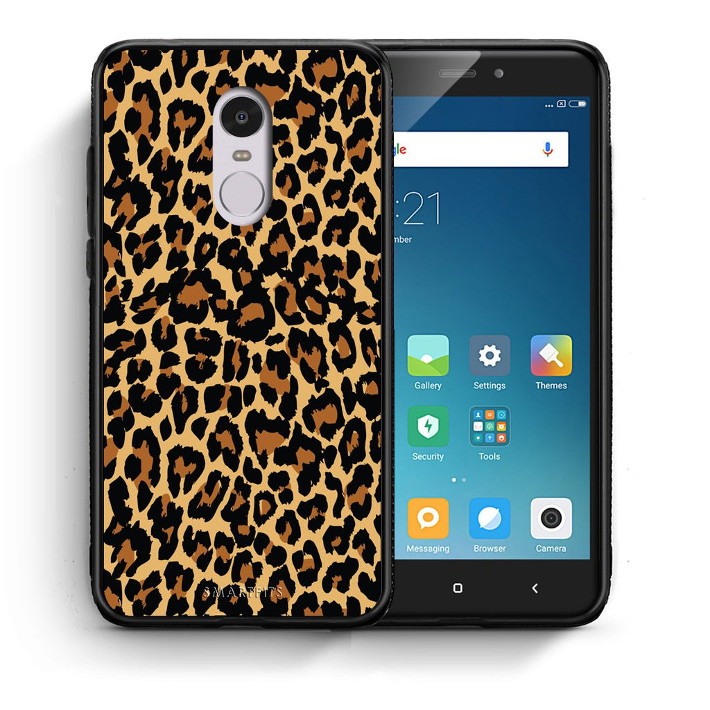 21 - Xiaomi Redmi Note 4/4X Leopard Animal case, cover, bumper