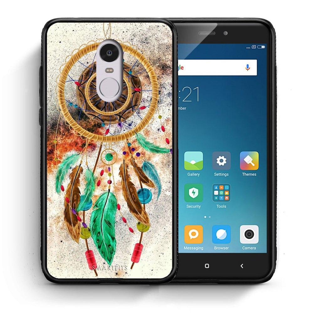 4 - Xiaomi Redmi Note 4/4X DreamCatcher Boho case, cover, bumper