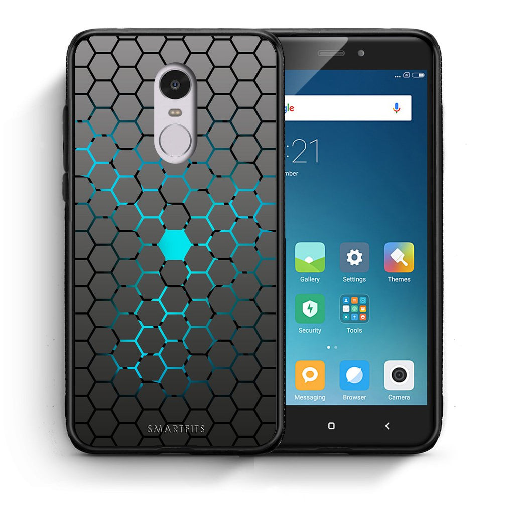 40 - Xiaomi Redmi Note 4/4X Hexagonal Geometric case, cover, bumper