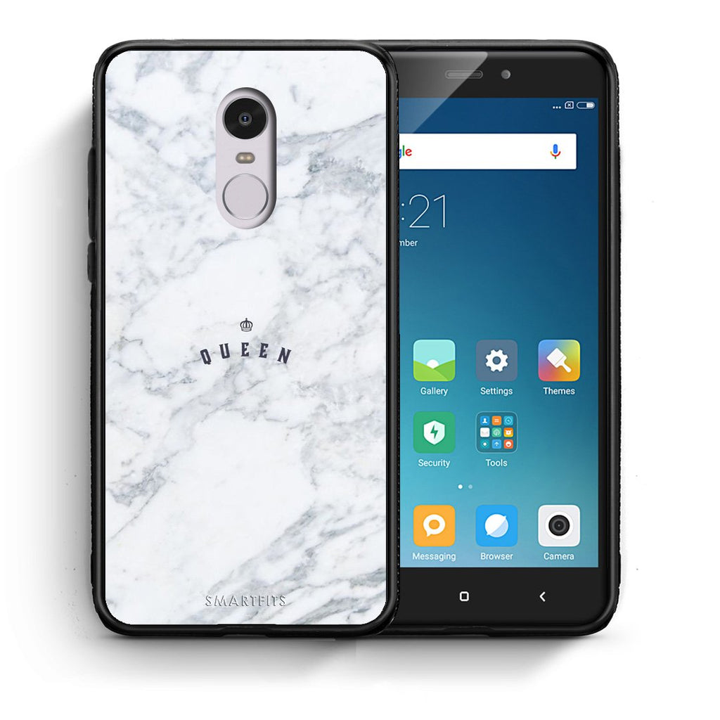 4 - Xiaomi Redmi Note 4/4X Queen Marble case, cover, bumper