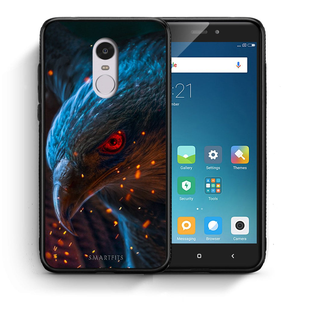 4 - Xiaomi Redmi Note 4/4X Eagle PopArt case, cover, bumper