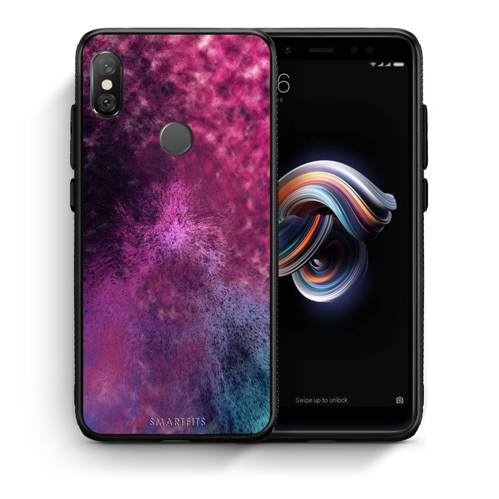 52 - Xiaomi Redmi Note 5 Aurora Galaxy case, cover, bumper