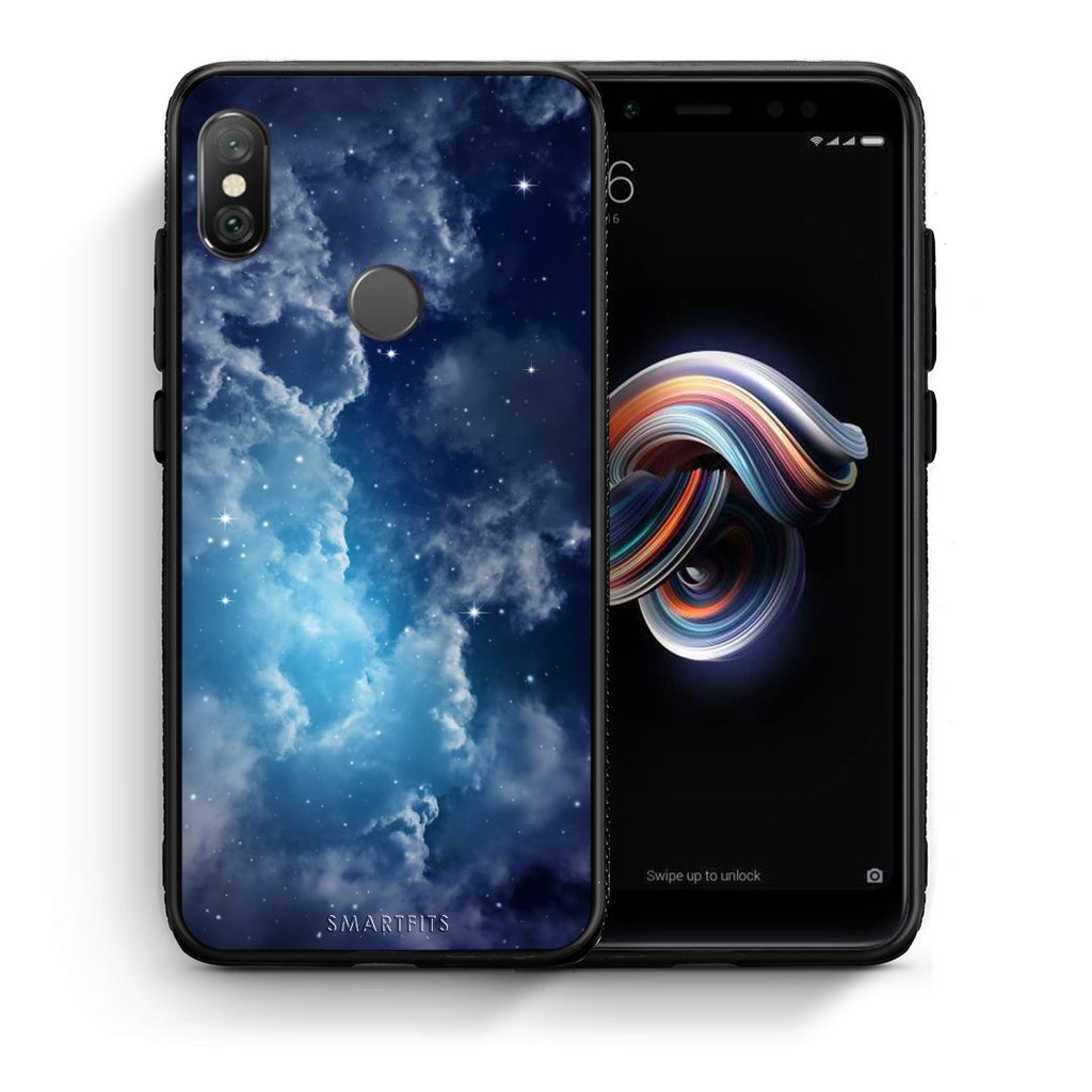 104 - Xiaomi Redmi Note 5 Blue Sky Galaxy case, cover, bumper
