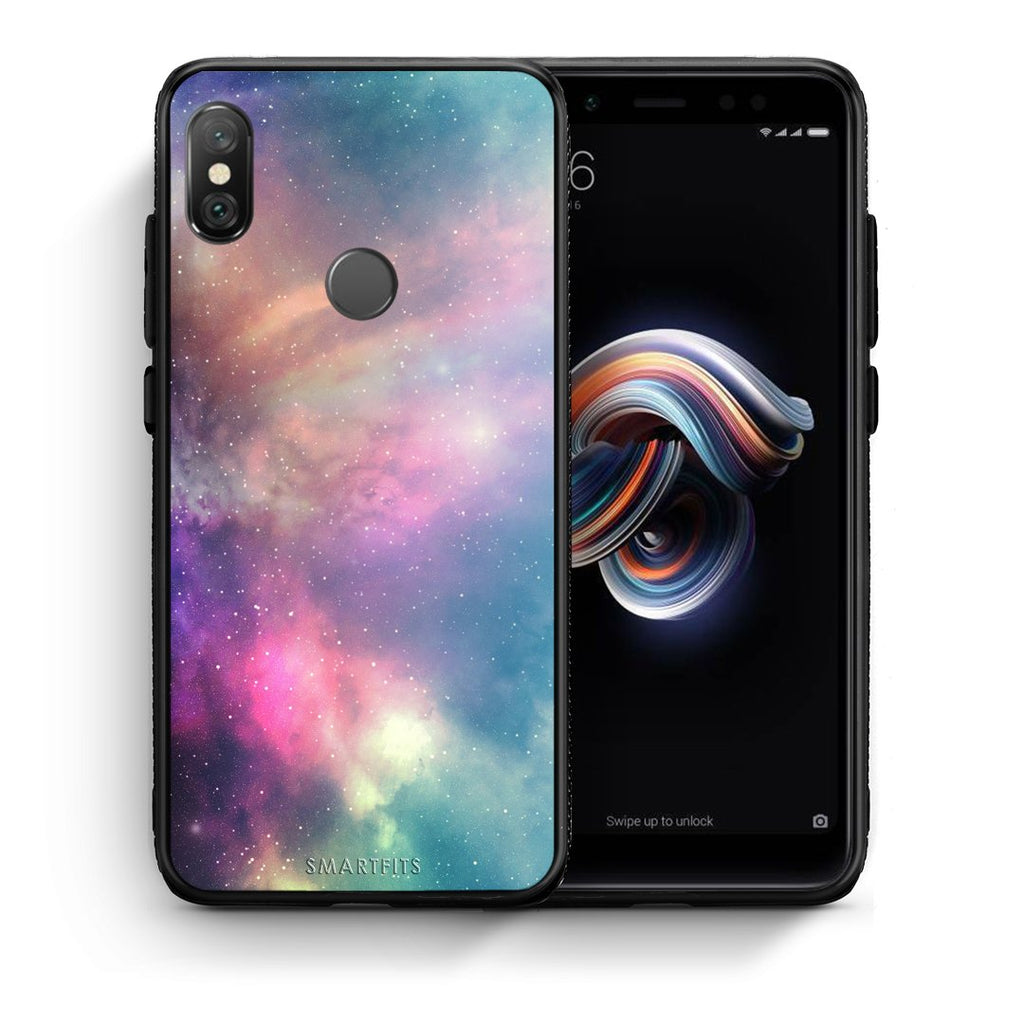 105 - Xiaomi Redmi Note 5 Rainbow Galaxy case, cover, bumper