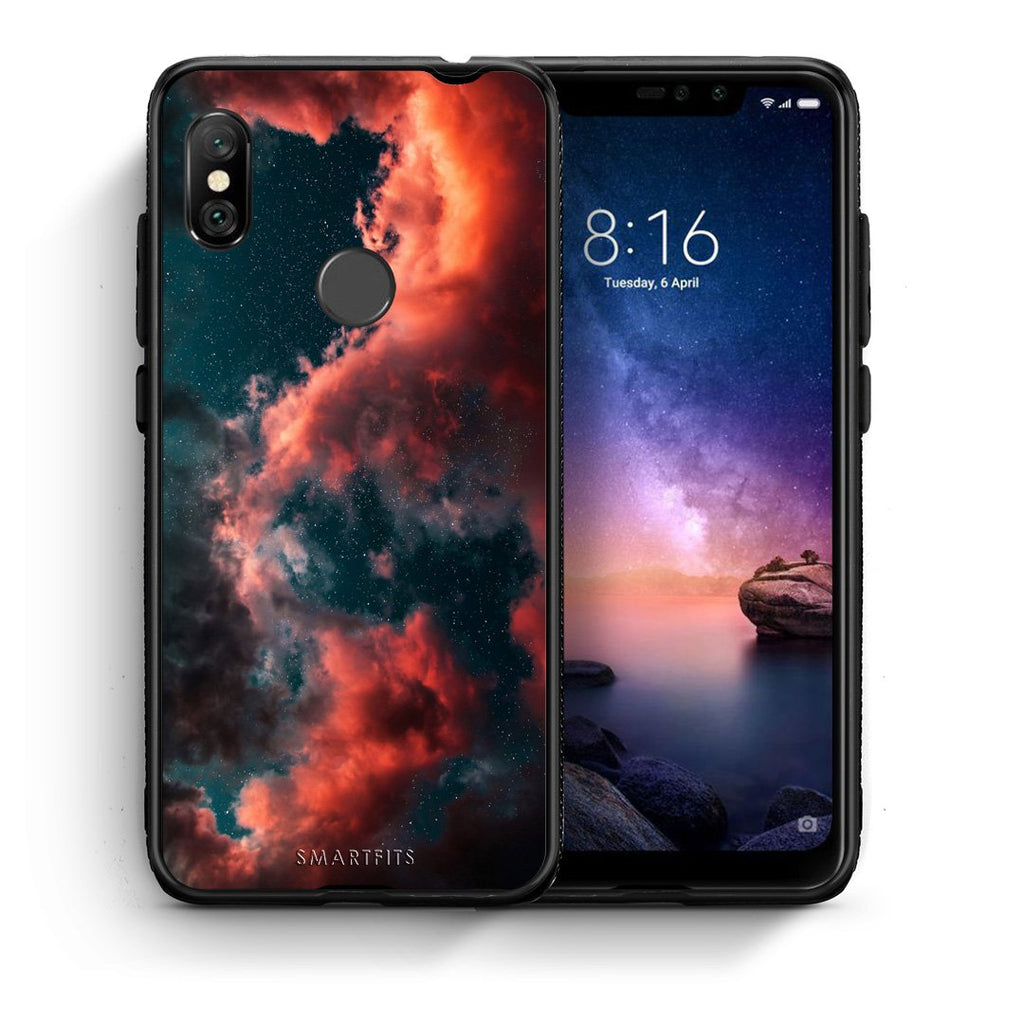 4 - Xiaomi Redmi Note 6 Pro Cloud Galaxy case, cover, bumper