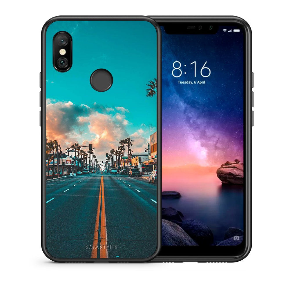 4 - Xiaomi Redmi Note 6 Pro City Landscape case, cover, bumper