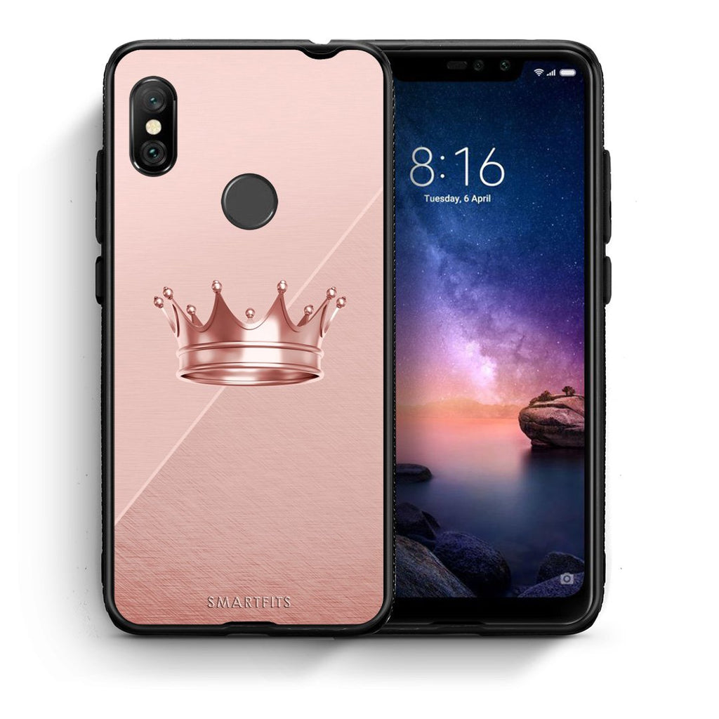 4 - Xiaomi Redmi Note 6 Pro Crown Minimal case, cover, bumper