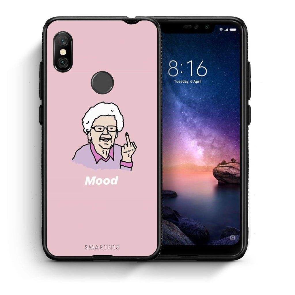 4 - Xiaomi Redmi Note 6 Pro Mood PopArt case, cover, bumper