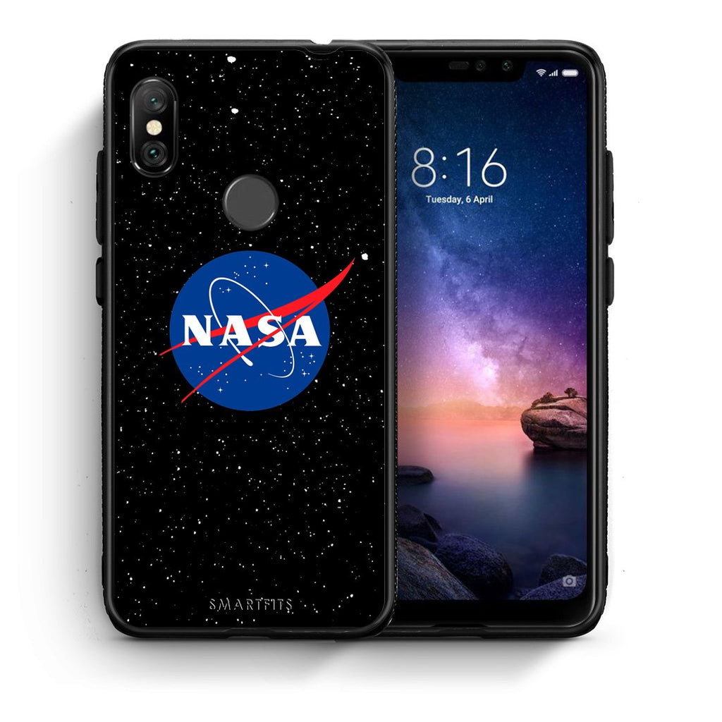 4 - Xiaomi Redmi Note 6 Pro NASA PopArt case, cover, bumper