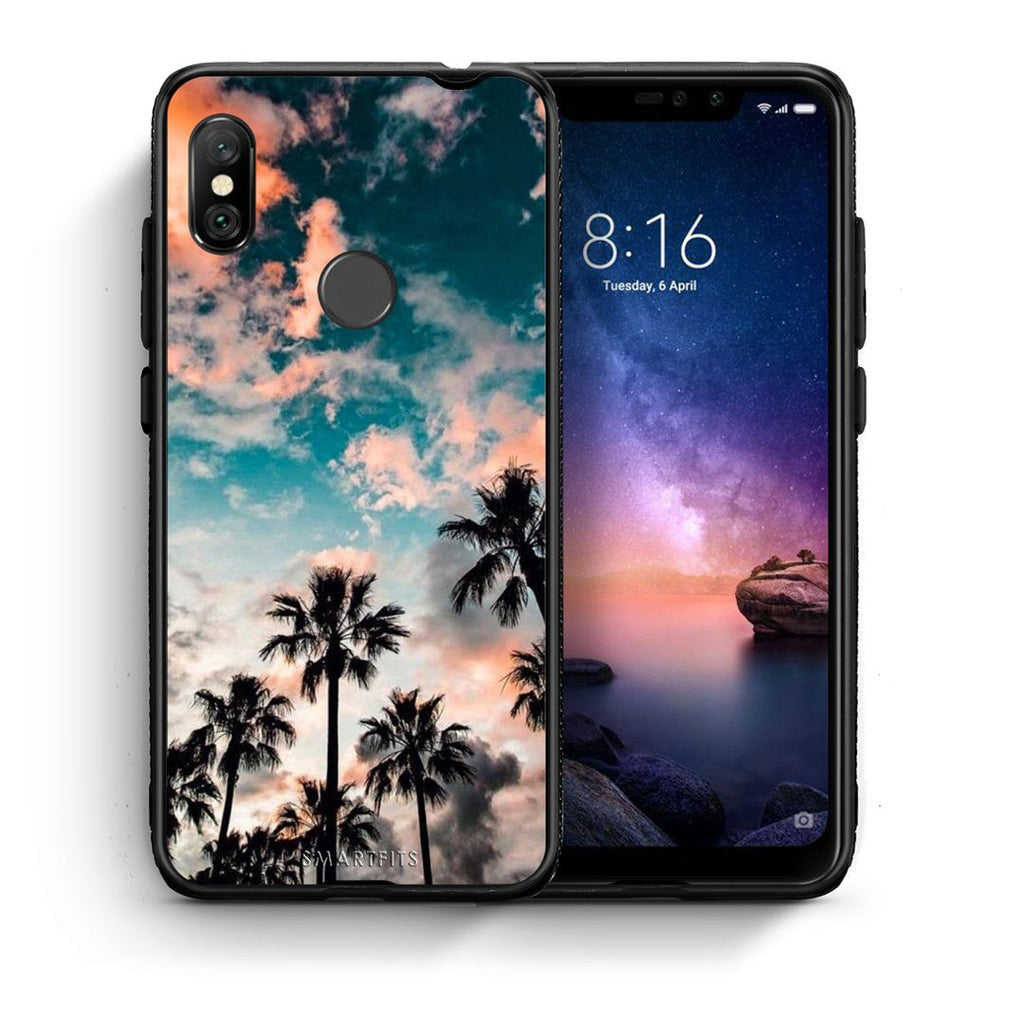 99 - Xiaomi Redmi Note 6 Pro  Summer Sky case, cover, bumper