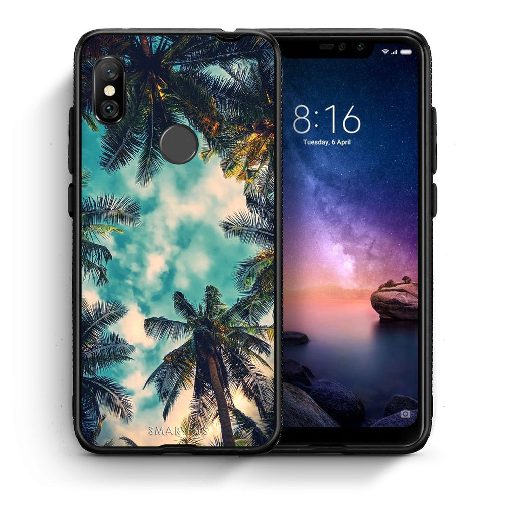 4 - Xiaomi Redmi Note 6 Pro Bel Air Tropic case, cover, bumper