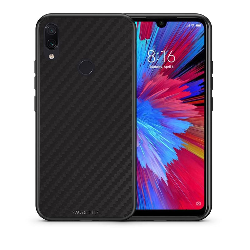 0 - Xiaomi Redmi Note 7  Black Carbon case, cover, bumper