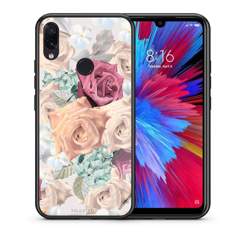 99 - Xiaomi Redmi Note 7  Bouquet Floral case, cover, bumper