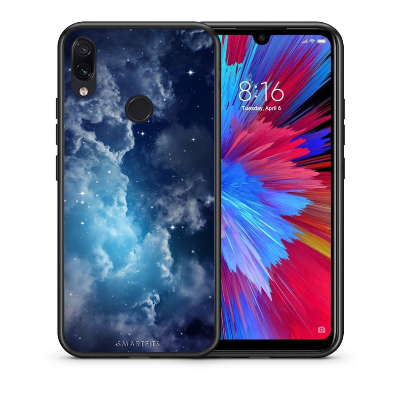 104 - Xiaomi Redmi Note 7  Blue Sky Galaxy case, cover, bumper