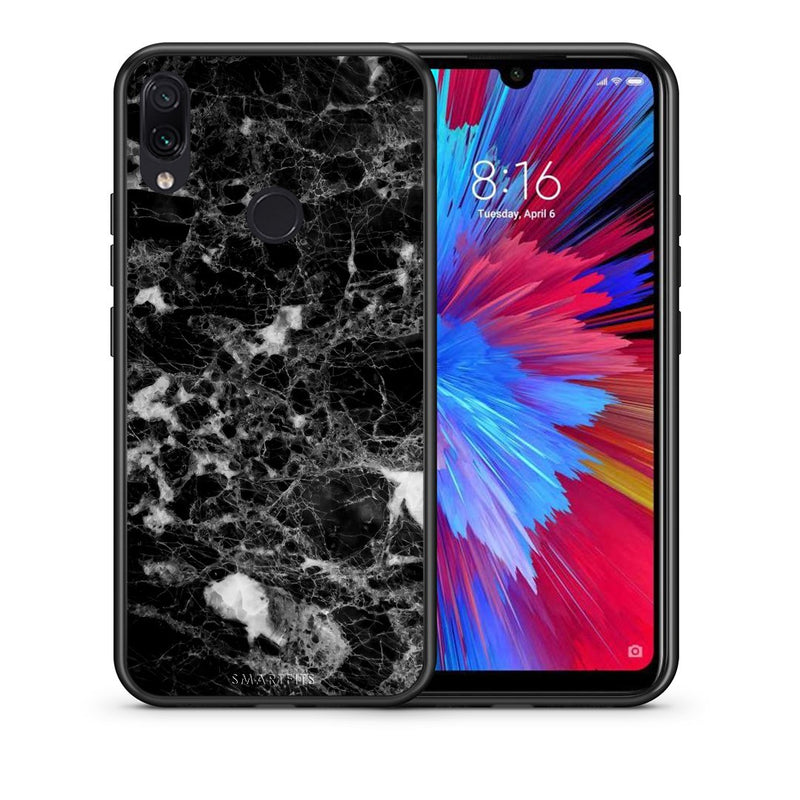 3 - Xiaomi Redmi Note 7  Male marble case, cover, bumper