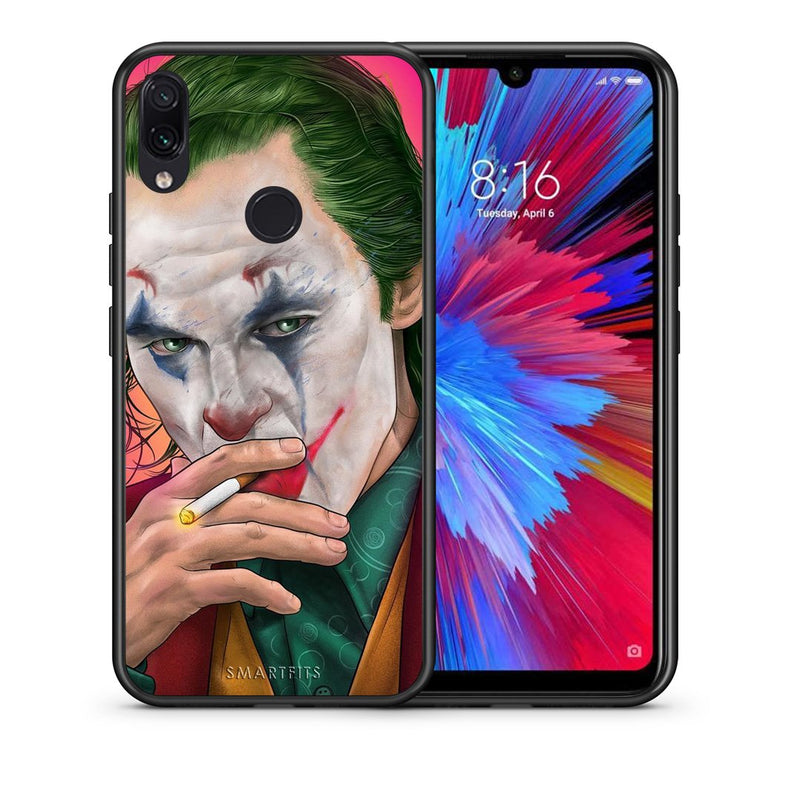 4 - Xiaomi Redmi Note 7 JokesOnU PopArt case, cover, bumper