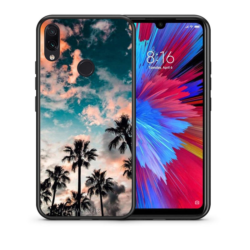 99 - Xiaomi Redmi Note 7  Summer Sky case, cover, bumper