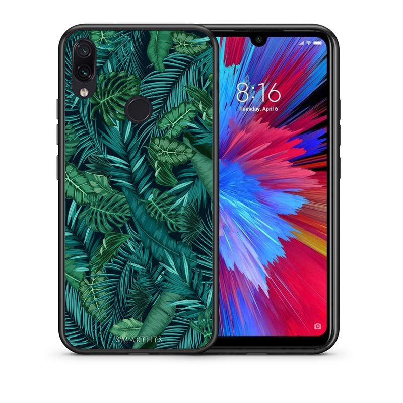 99 - Xiaomi Redmi Note 7  Tropic Leaves case, cover, bumper