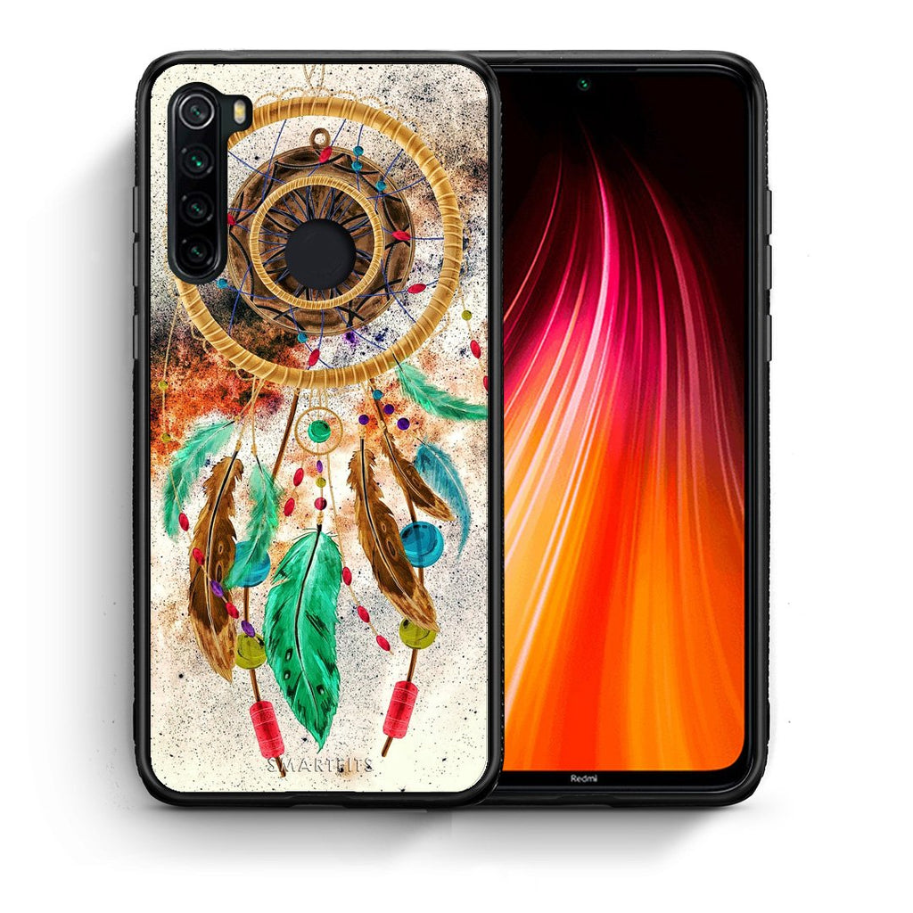 4 - Xiaomi Redmi Note 8 DreamCatcher Boho case, cover, bumper