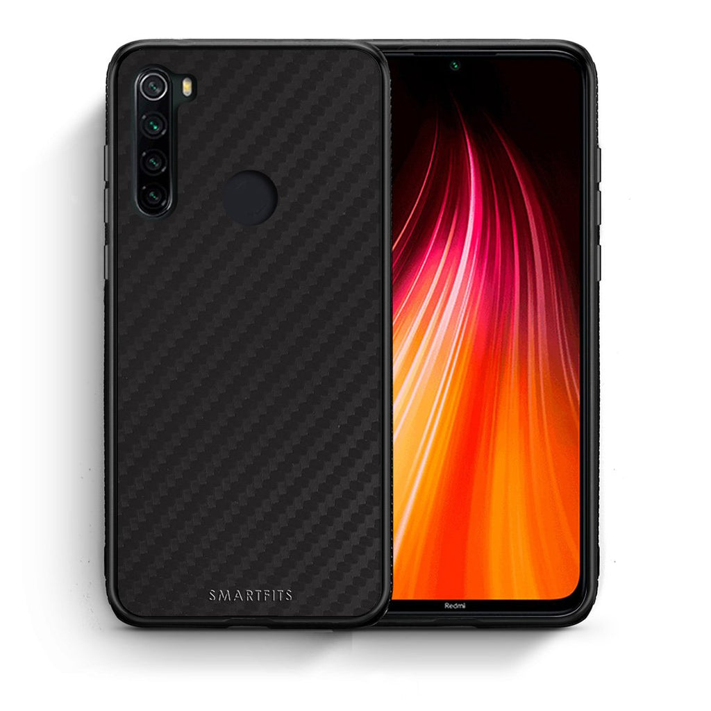 0 - Xiaomi Redmi Note 8 Black Carbon case, cover, bumper