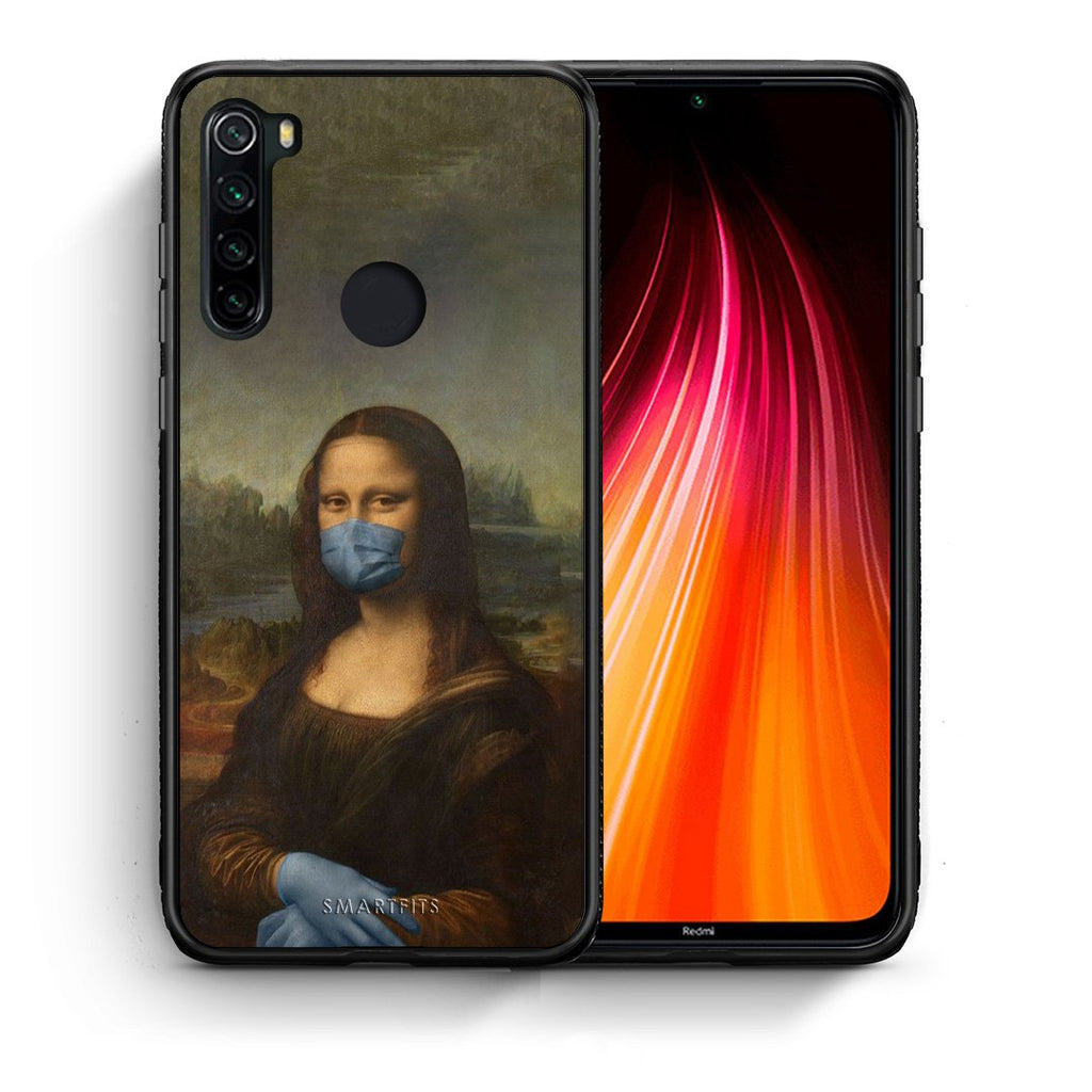 4 - Xiaomi Redmi Note 8 Lisa Corona case, cover, bumper