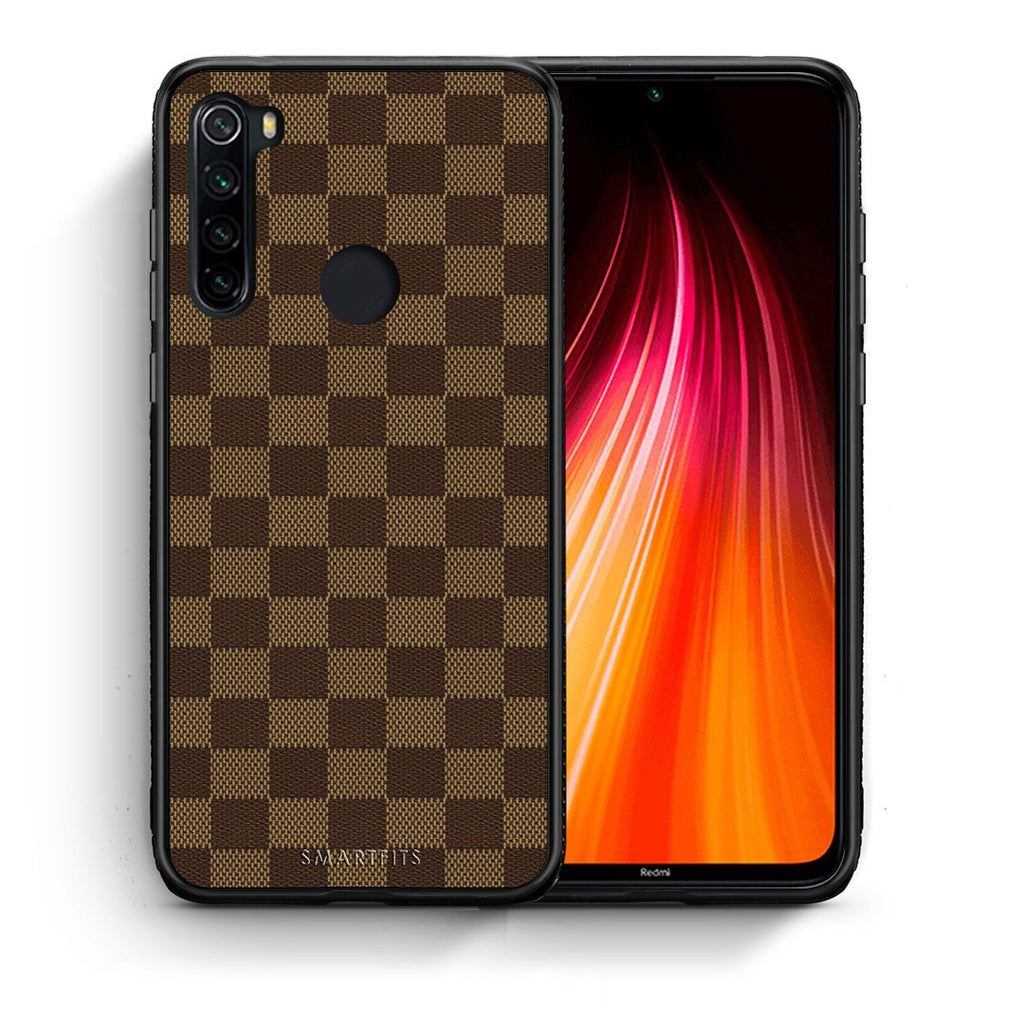 Θήκη Xiaomi Redmi Note 8 Glamour Designer από τη Smartfits με σχέδιο στο πίσω μέρος και μαύρο περίβλημα | Xiaomi Redmi Note 8 Glamour Designer case with colorful back and black bezels