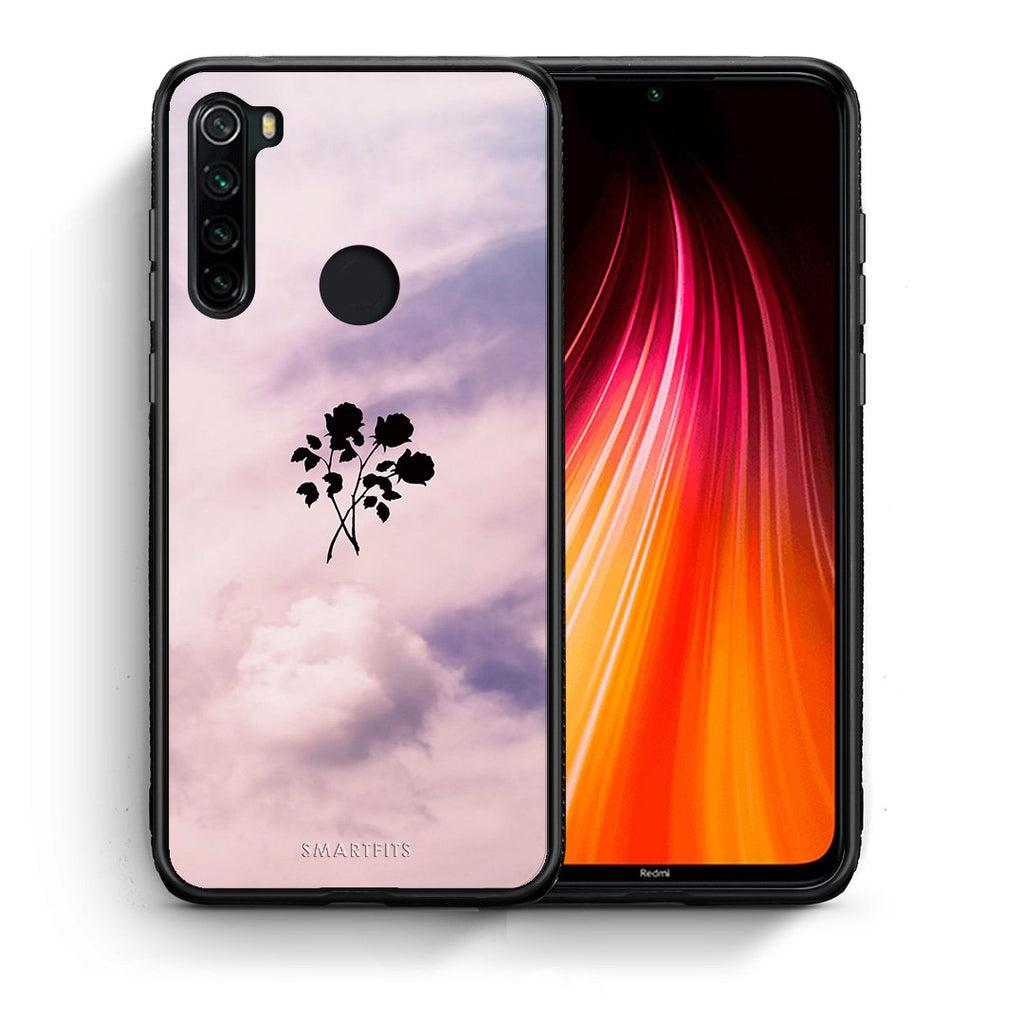 4 - Xiaomi Redmi Note 8 Sky Flower case, cover, bumper