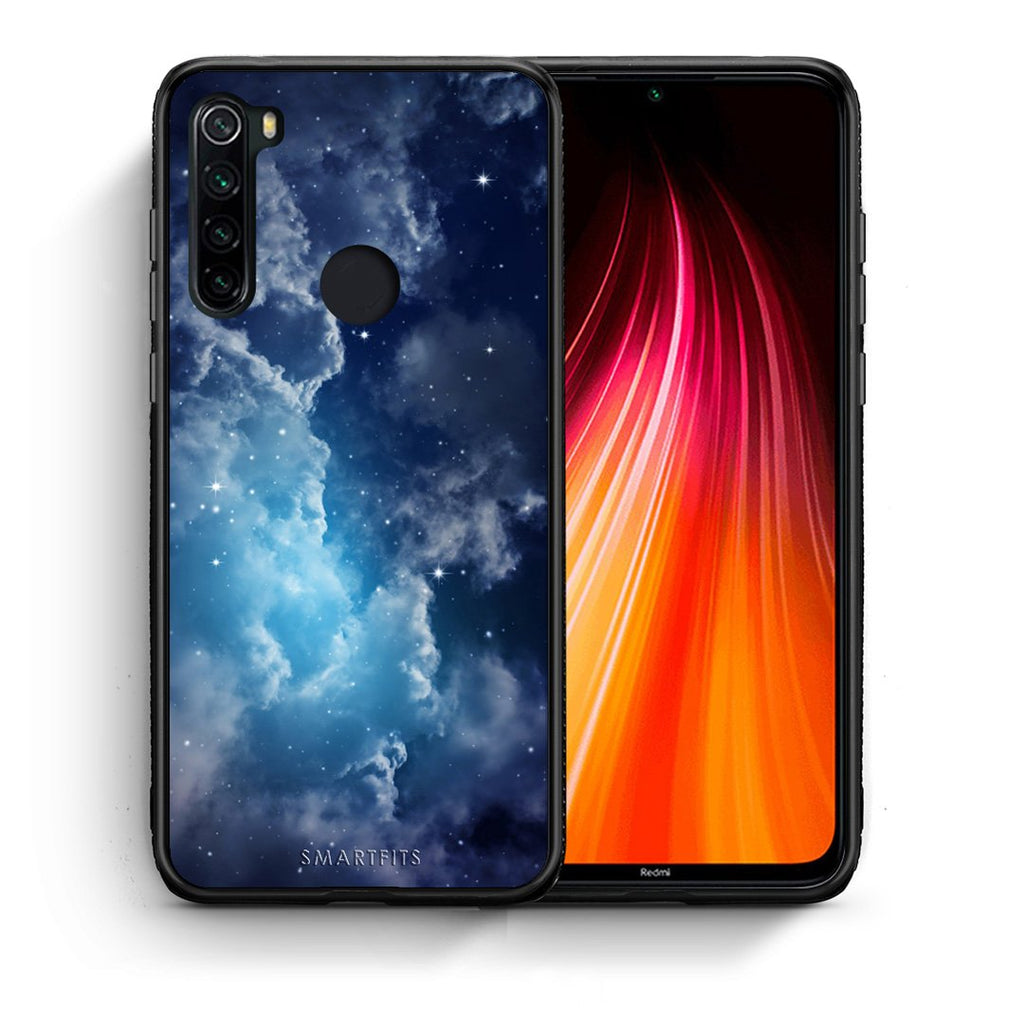 104 - Xiaomi Redmi Note 8 Blue Sky Galaxy case, cover, bumper
