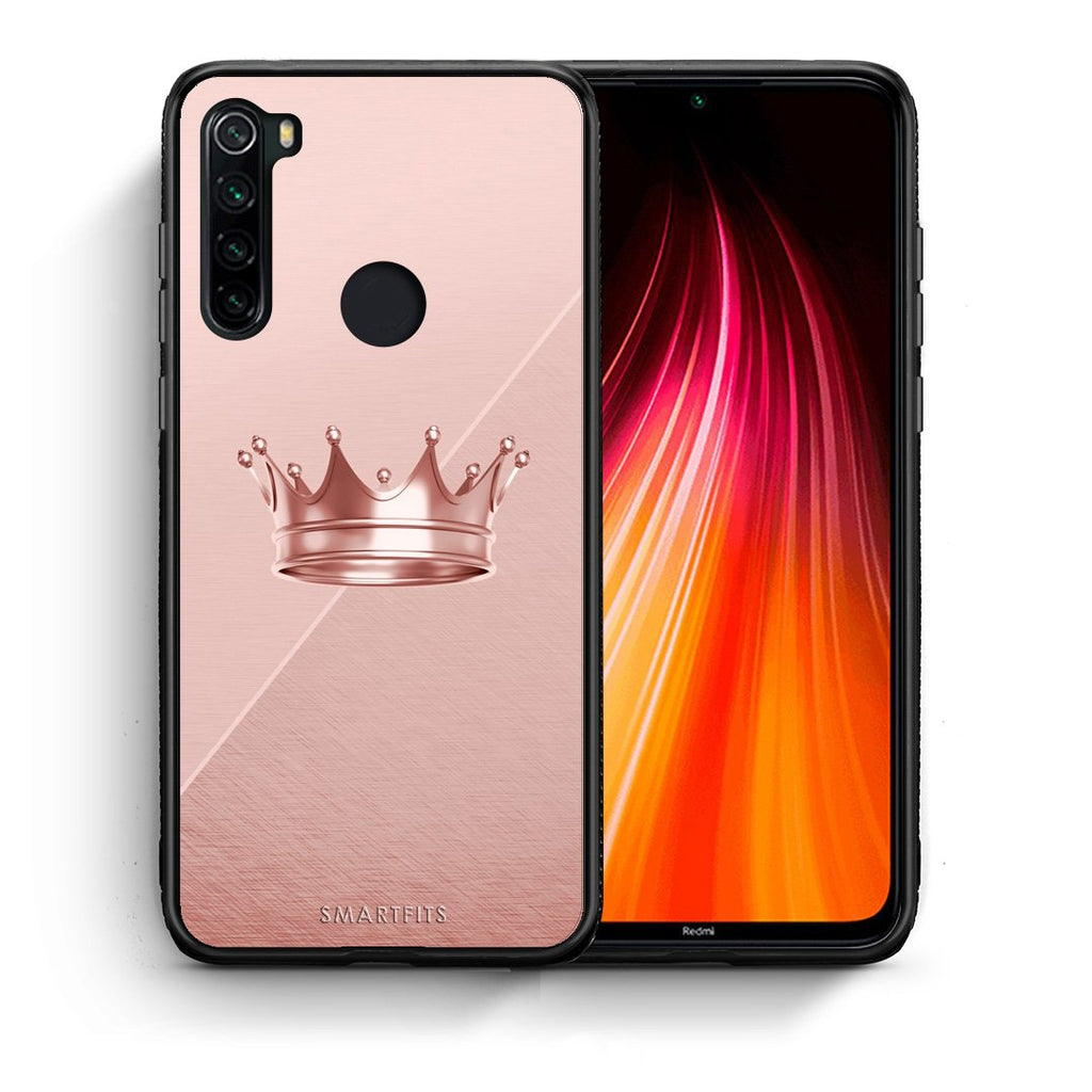 4 - Xiaomi Redmi Note 8 Crown Minimal case, cover, bumper