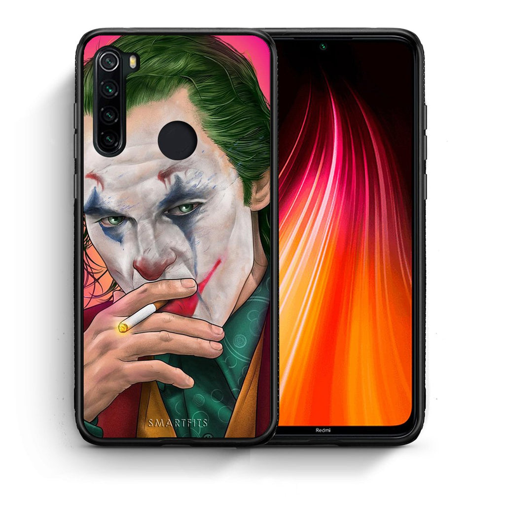 Θήκη Xiaomi Redmi Note 8 JokesOnU PopArt από τη Smartfits με σχέδιο στο πίσω μέρος και μαύρο περίβλημα | Xiaomi Redmi Note 8 JokesOnU PopArt case with colorful back and black bezels