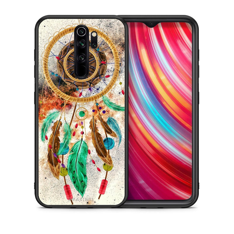 4 - Xiaomi Redmi Note 8 Pro DreamCatcher Boho case, cover, bumper
