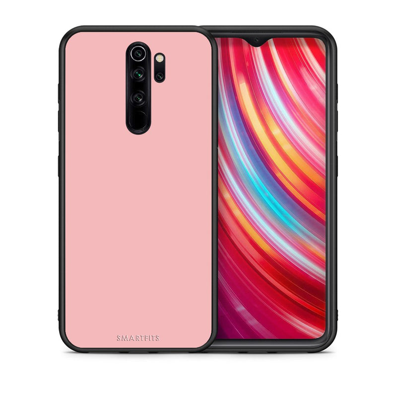 Θήκη Xiaomi Redmi Note 8 Pro Nude Color από τη Smartfits με σχέδιο στο πίσω μέρος και μαύρο περίβλημα | Xiaomi Redmi Note 8 Pro Nude Color case with colorful back and black bezels