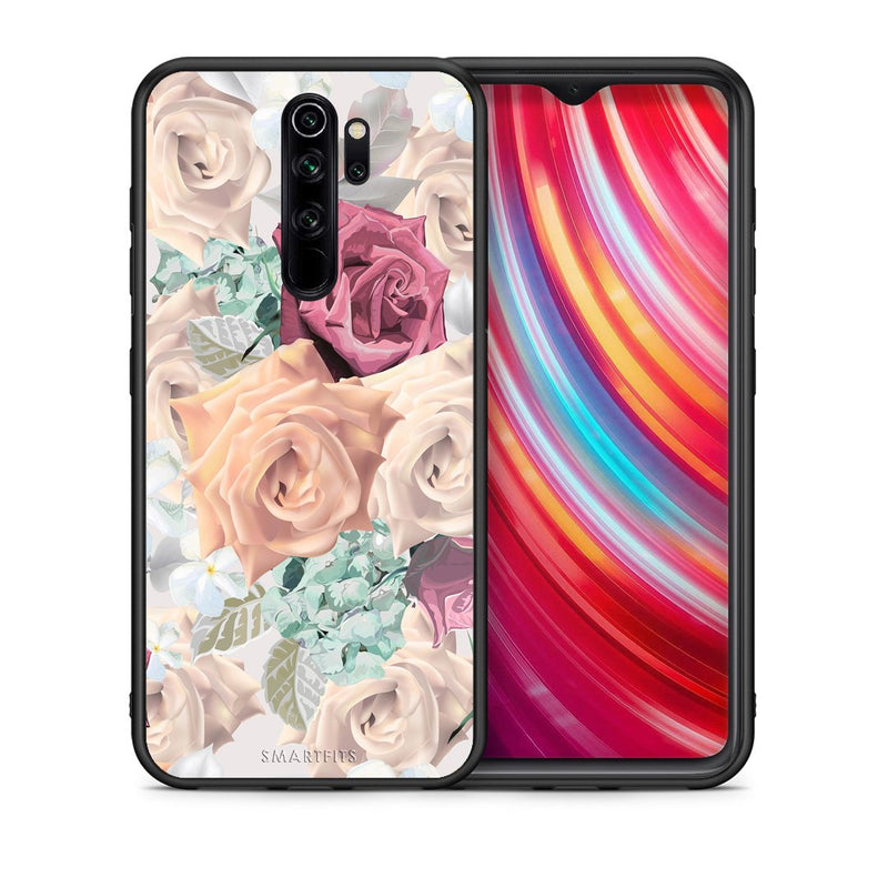99 - Xiaomi Redmi Note 8 Pro Bouquet Floral case, cover, bumper