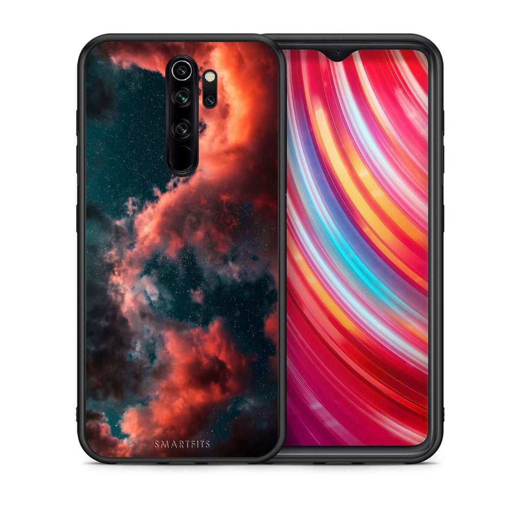 Θήκη Xiaomi Redmi Note 8 Pro Cloud Galaxy από τη Smartfits με σχέδιο στο πίσω μέρος και μαύρο περίβλημα | Xiaomi Redmi Note 8 Pro Cloud Galaxy case with colorful back and black bezels