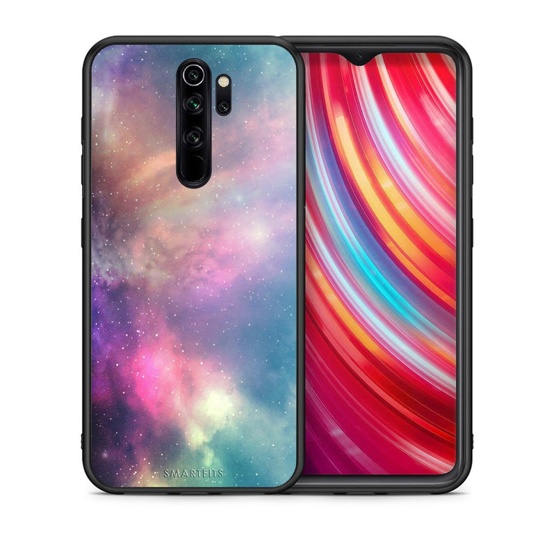 105 - Xiaomi Redmi Note 8 Pro Rainbow Galaxy case, cover, bumper