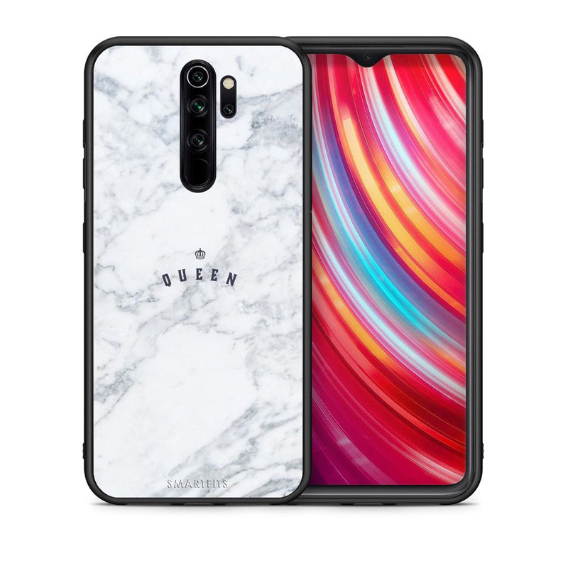 4 - Xiaomi Redmi Note 8 Pro Queen Marble case, cover, bumper