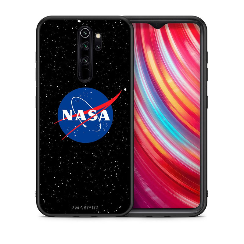 4 - Xiaomi Redmi Note 8 Pro NASA PopArt case, cover, bumper