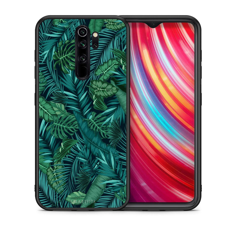 99 - Xiaomi Redmi Note 8 Pro Tropic Leaves case, cover, bumper