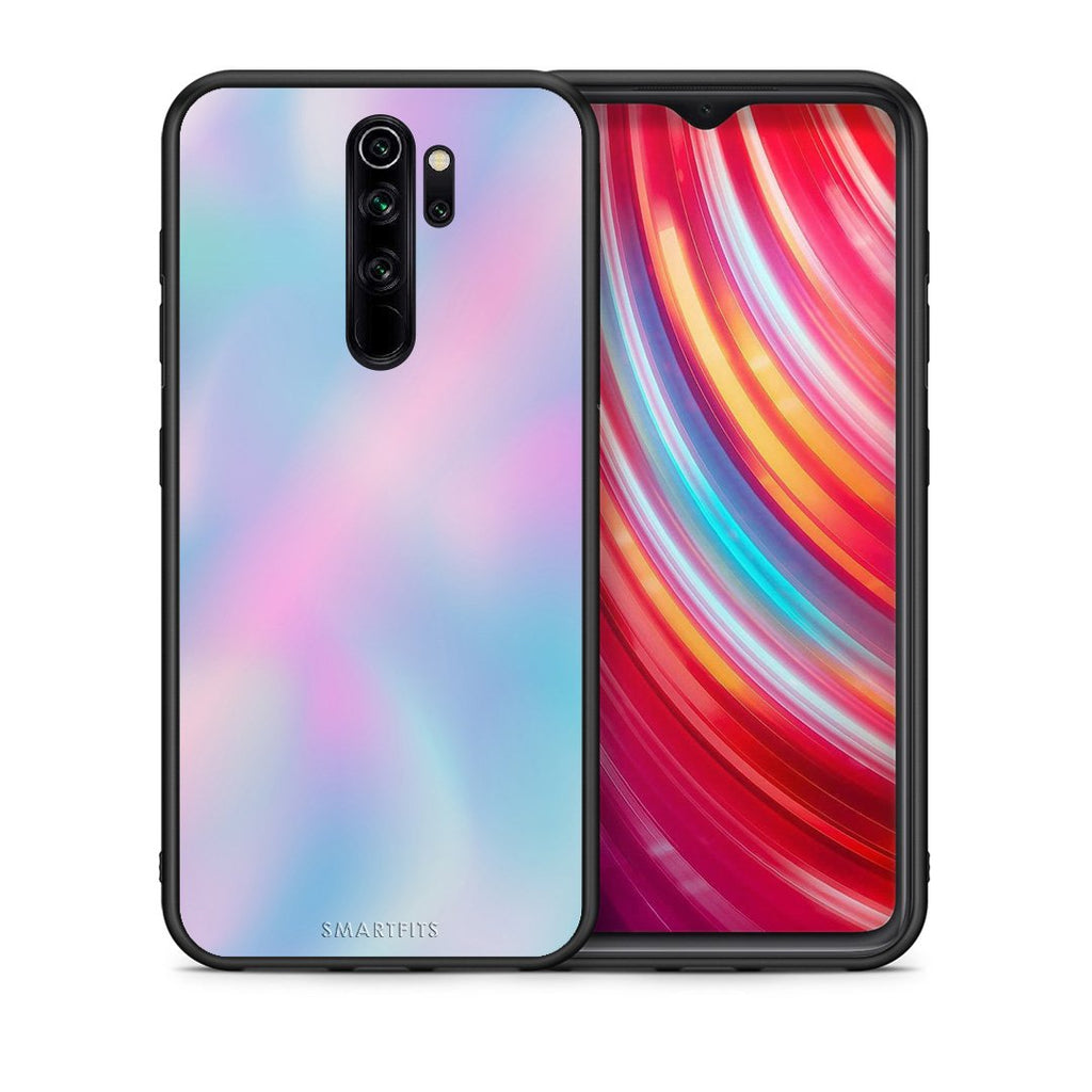 Θήκη Xiaomi Redmi Note 8 Pro Rainbow Watercolor από τη Smartfits με σχέδιο στο πίσω μέρος και μαύρο περίβλημα | Xiaomi Redmi Note 8 Pro Rainbow Watercolor case with colorful back and black bezels