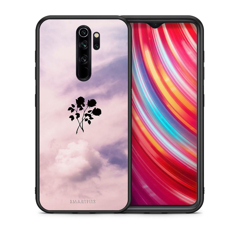 4 - Xiaomi Redmi Note 8 Pro Sky Flower case, cover, bumper