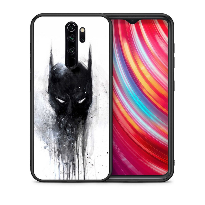 4 - Xiaomi Redmi Note 8 Pro Paint Bat Hero case, cover, bumper