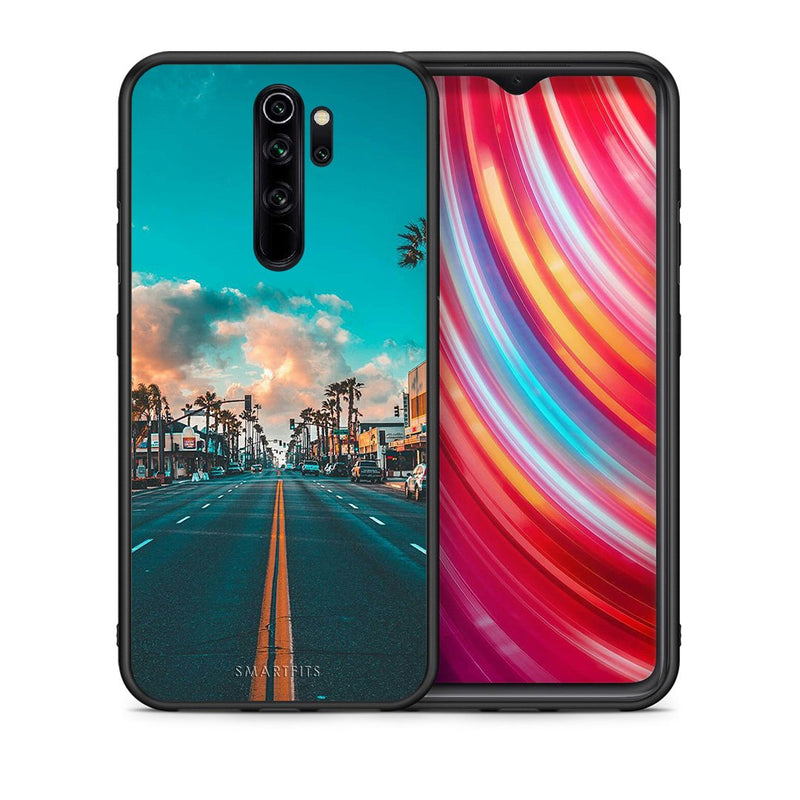 4 - Xiaomi Redmi Note 8 Pro City Landscape case, cover, bumper