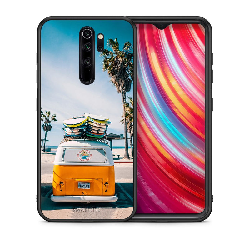 4 - Xiaomi Redmi Note 8 Pro Travel Summer case, cover, bumper
