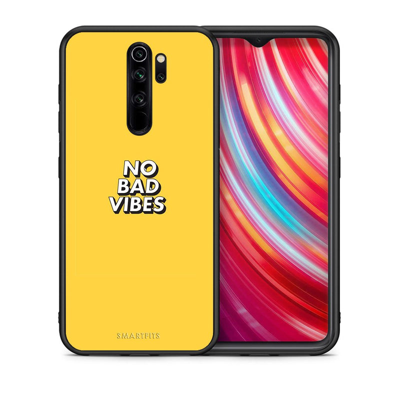 4 - Xiaomi Redmi Note 8 Pro Vibes Text case, cover, bumper